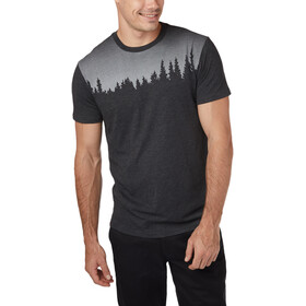 tentree Juniper SS Tee Herrer, meteorite black heather